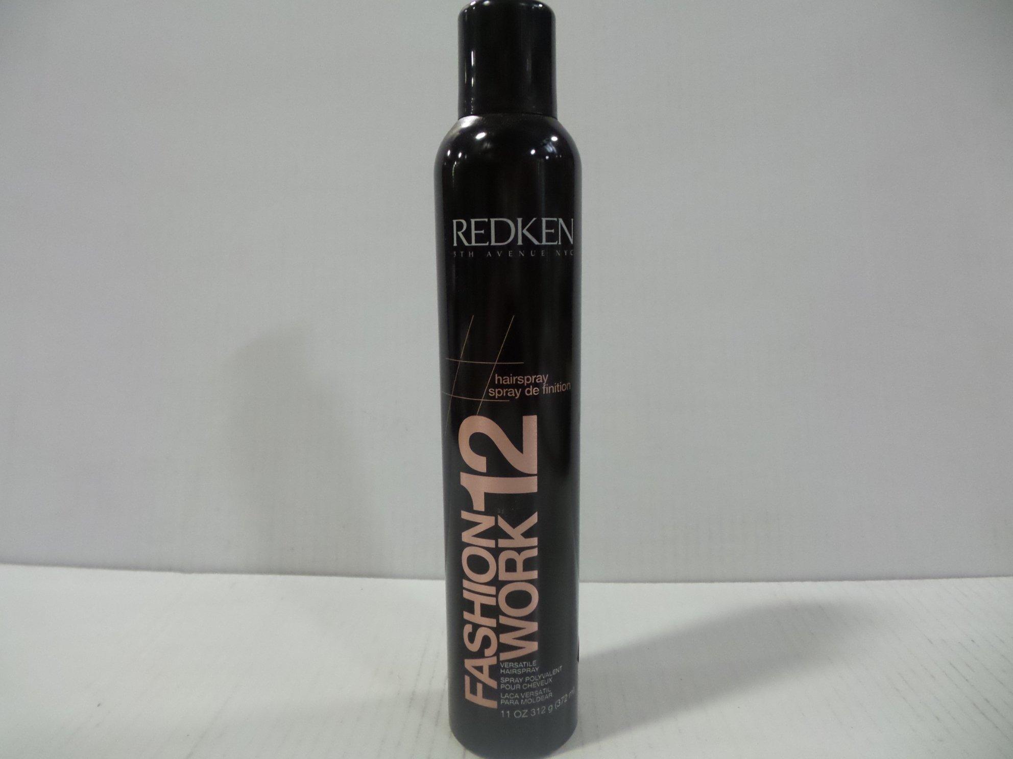 Redken Fashion Work 12 Versatile Working Spray 11oz