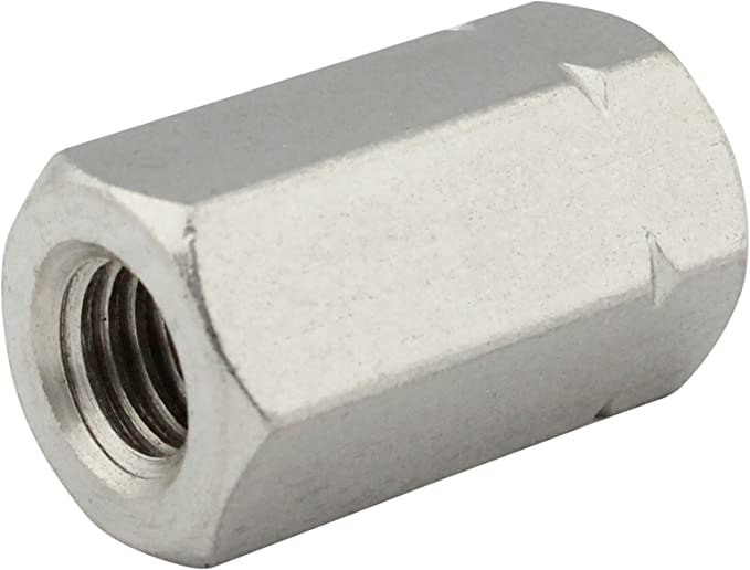 Sechskantschrauben DIN 933 10 St/ück Sechskant Schrauben M8x30 mm A2 Edelstahl Vollgewinde 10, M8x30 mm V2A
