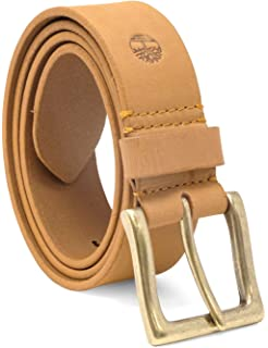 9a5a1eef434e7 Timberland Men s 38 Mm Boot Leather Wheat Belt