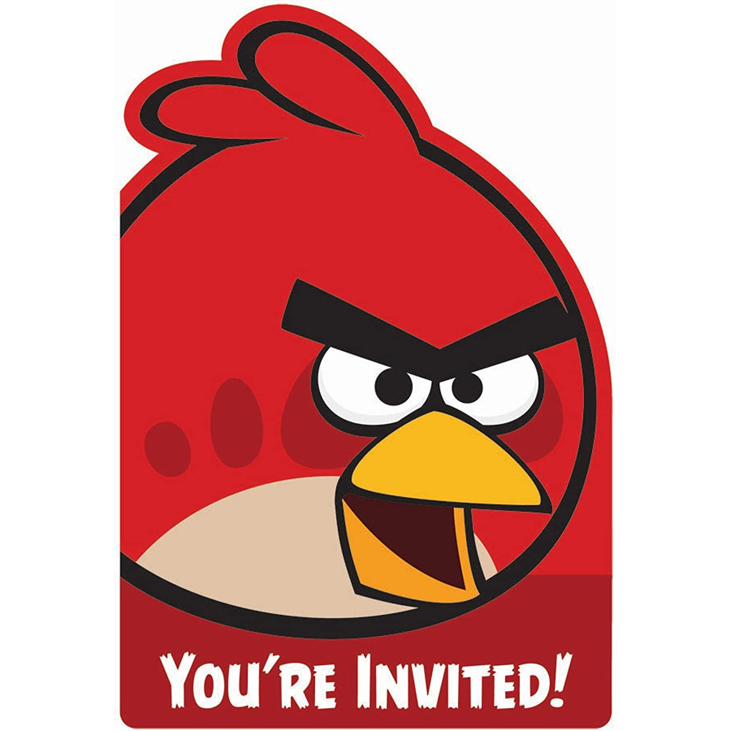 Amazon angry birds invitations 8 invites birthday party amazon angry birds invitations 8 invites birthday party supplies toys games filmwisefo Choice Image