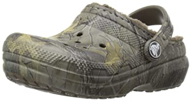 2e1793690d8687 crocs Classic Realtree Xtra Lined Clog (Toddler Little Kid)