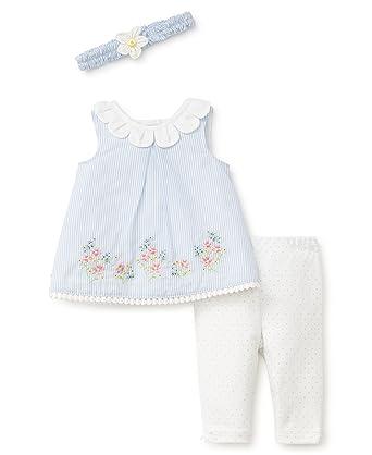 c85b6d8a6f4e Amazon.com  Little Me Baby Girls Pretty Petals Tunic