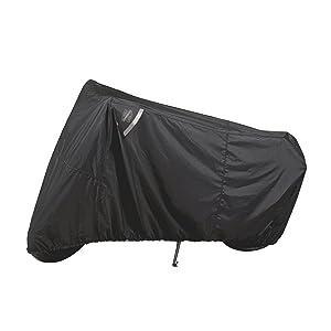 Dowco Guardian 50124-00 WeatherAll Plus Indoor/Outdoor Waterproof Motorcycle Cover, Black, Sportbike