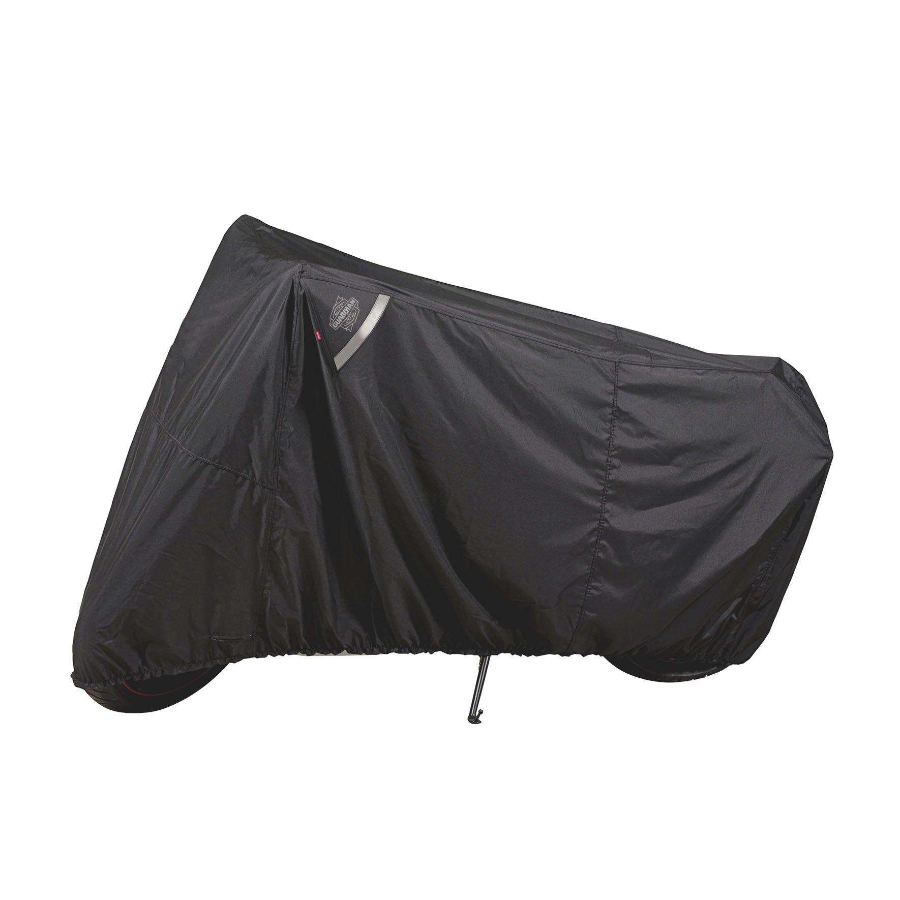 Dowco Guardian by 50124-00 WeatherAll Plus Indoor/Outdoor Waterproof Motorcycle Cover: Black, Sportbike
