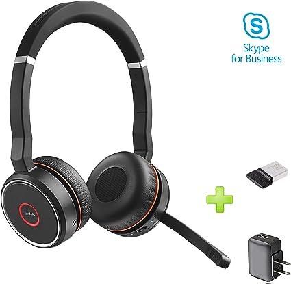 Amazon.com: Jabra Evolve 75 - Auriculares Bluetooth con ...