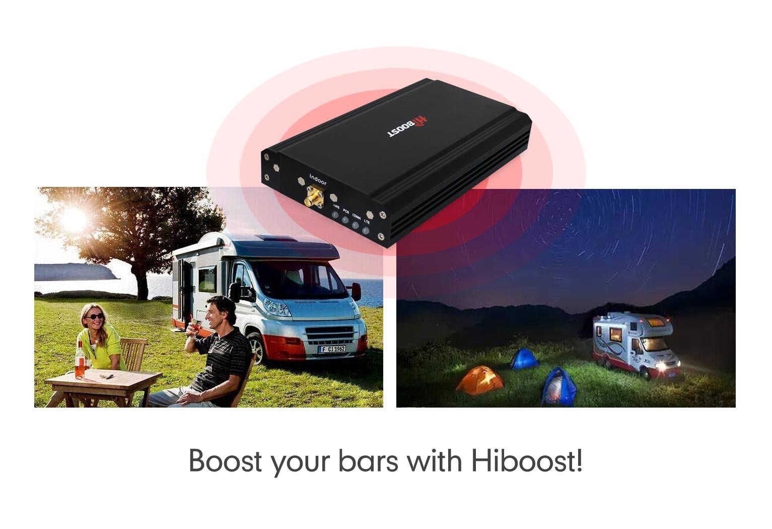 Travel 4G Cell Phone Signal Booster for Car, Truck, SUV, RV, & More - HiBoost Mobile Signal Boosters by HiBoost (Image #6)
