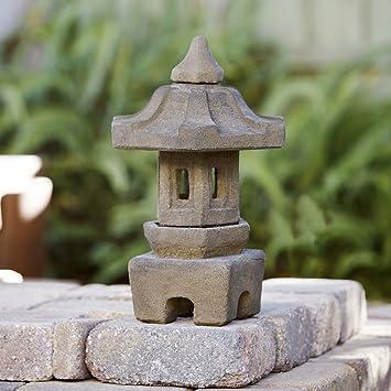 Superbe Pagoda Japanese Garden Lantern 16u0026quot;H Outdoor Garden Statue By Garden  Age Supply