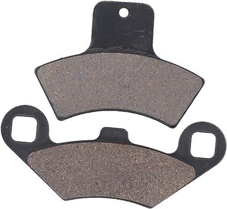 Cyleto Plaquettes de frein avant et arri/ère pour Polaris 400/Scrambler 4/x 4/1998/1999/2000/2001/2002//500/Scrambler 4/x 4/1998/1999/2000/2001/2002/2003/2004