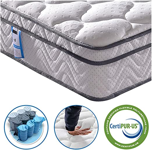 Vesgantti Single Pocket Sprung Mattress - Best Single Bed Mattress