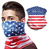 Bandana Neck Gaiter Rave Face Mask Dust Cover Scarf Reusable Cloth Face Covering