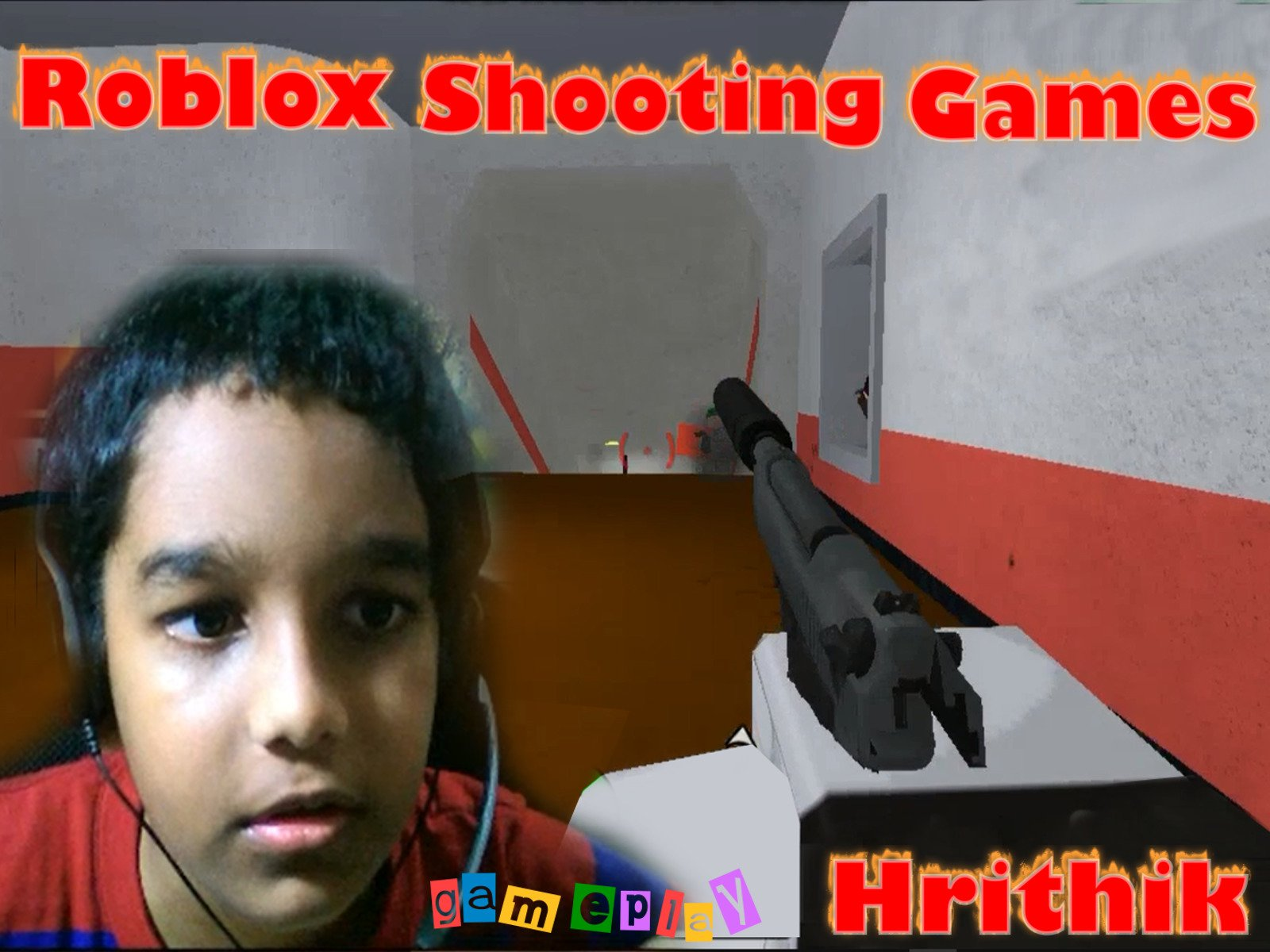 Amazon Com Watch Clip Roblox Shooting Games Gameplay Hrithik