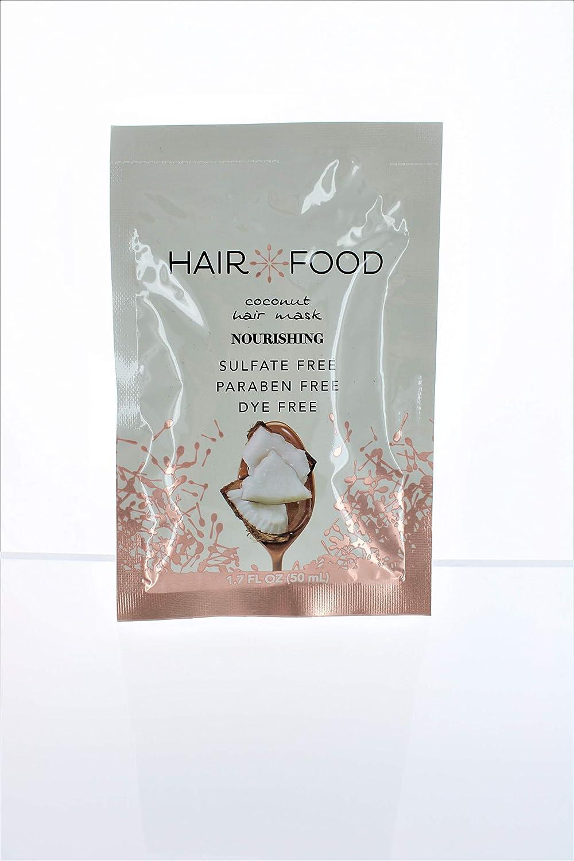 Hair Food Nourishing Coconut Hair Mask 1.7 Ounce (10 Pieces) (50ml)