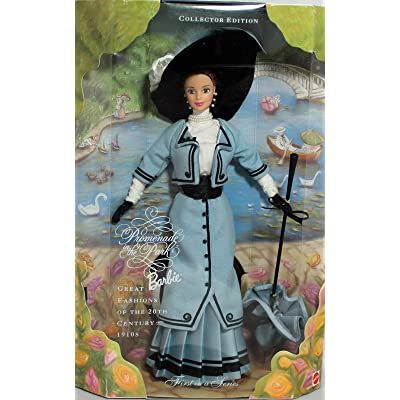 Barbie Promenade in The Park Doll Collector Edition - Great Fashions of 20th Century 1910's - 1st in Series (1997): Toys & Games