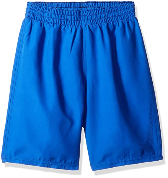 cc04982f15 Nike Boys Swoosh Solid Lap Volley Short Swim Trunk Swim Trunks: Amazon.ca:  Clothing & Accessories