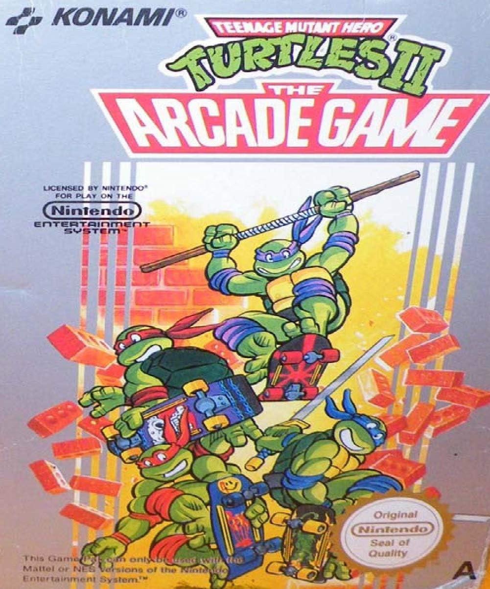 Amazon.com: NES - Teenage Mutant Hero Turtles II - [PAL EU ...