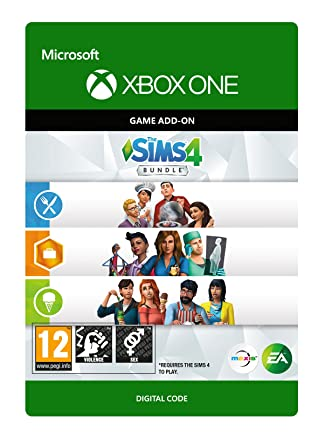The Sims 4 Bundle Dlc   Xbox One   Download Code by Electronic Arts
