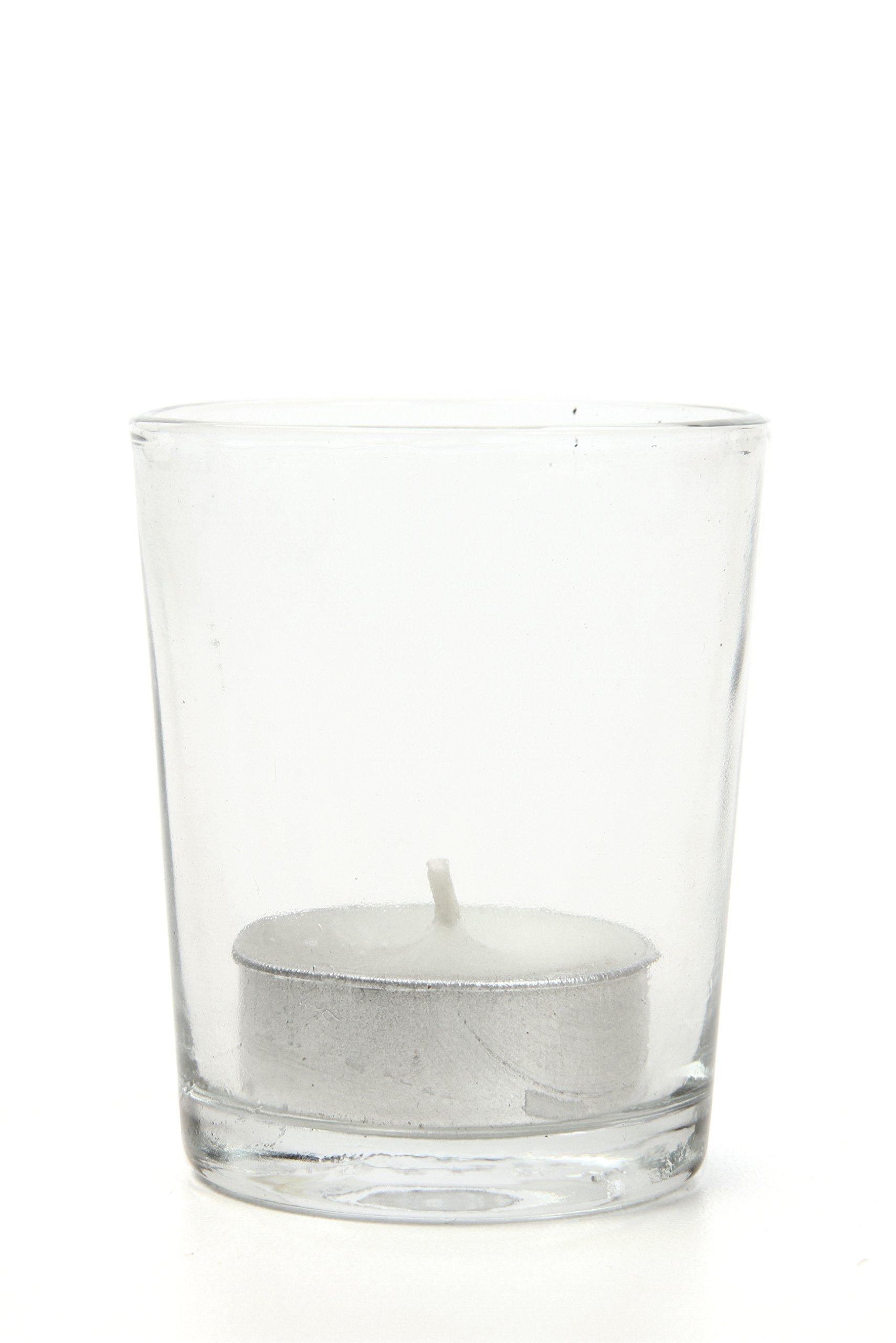 66c8bb7628d4 Details about Hosley Set of 72 Clear Votive Tea Light Glass Candle Holders.  Bulk Buy. Ideal
