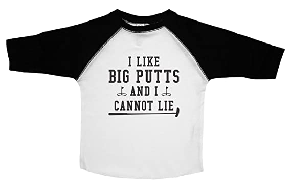 d101b4a2 Baffle Funny Golf Shirt for Boys Or Girls/Big Putts/Kids Toddler TEE (