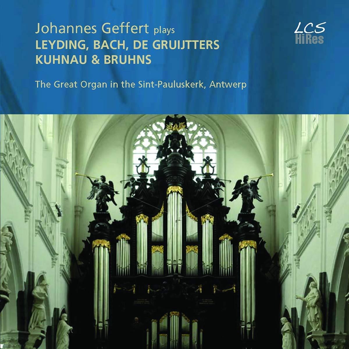 SACD : JOHANNES GEFFERT - Johannes Geffert Plays Leyding (Hybrid SACD)