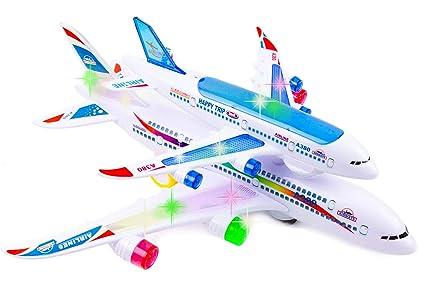 Amazon.com: Toytykes avión de doble cubierta – Viene con ...