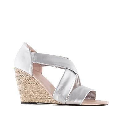 36e0f544822de7 Andres Machado.AM5268.Chaussures compensées en suèdine.pour Femmes ...