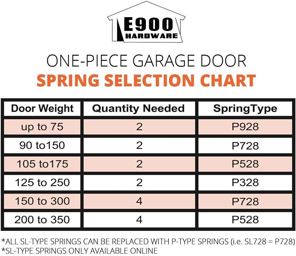 Amazon Com P528 28 Inch Plug End Garage Door Spring 207 5 Wire Home Improvement