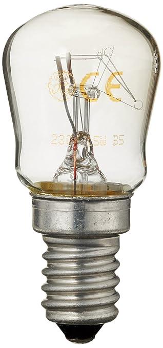 GENERAL ELECTRIC 50279889005 BOMBILLA PARA NEVERA 15 W E14: Amazon ...