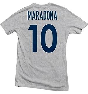 Amazon.com: Diego Maradona Fútbol para Hombre Legend mano de ...