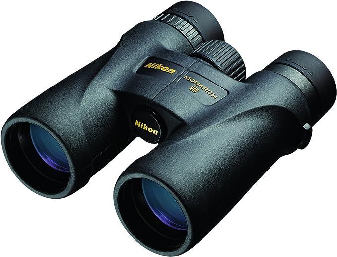 Best compact binoculars :  Nikon 7576 MONARCH 5 8x42 Binocular
