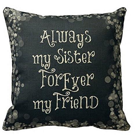 Amazon.com: cboutletart siempre mi hermana Forever Mi amigo ...