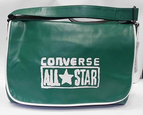 f6a13bbb Converse - Bolso bandolera verde bottle green Talla:36 cm: Amazon.es ...