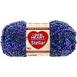 Coats Yarn Red Heart Stellar Yarn, Deep Space