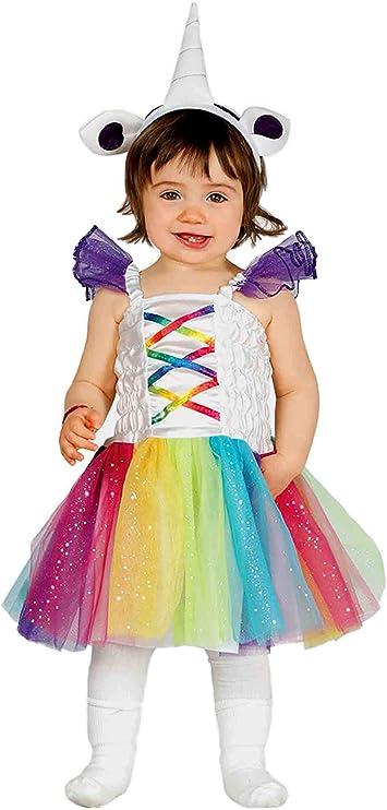 Guirca – Disfraz de Unicornio para niñas - Talla XXS - Modelo ...
