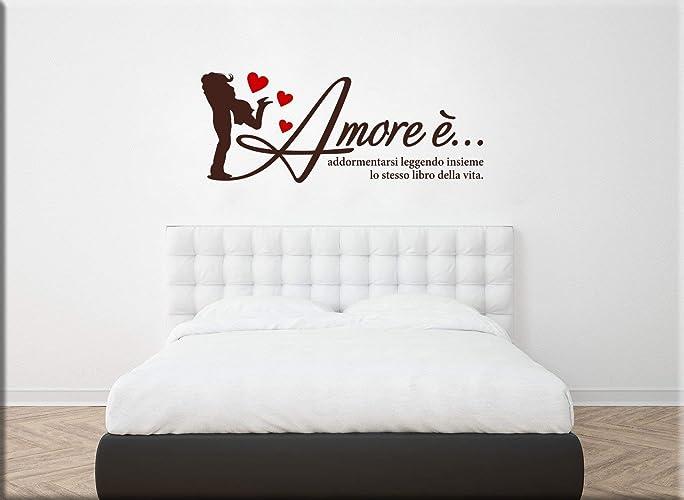 Decorazioni Murali Camere Da Letto : Adesivi murali camera da letto anche personalizzati