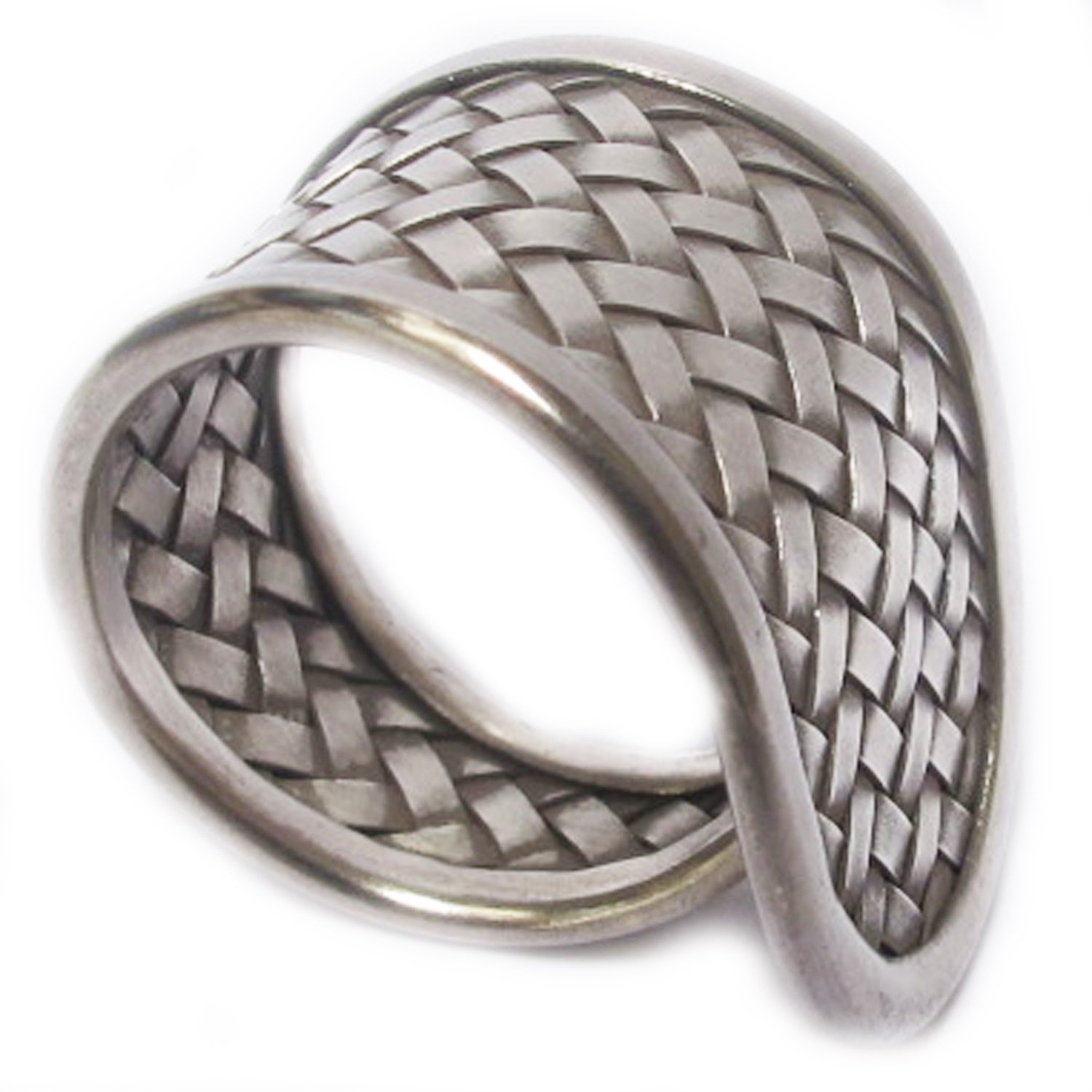 PURE 99.5/% CLASSIC GENUINE THAI KAREN HILL TRIBE SILVER RING SIZE NO.8 BY HANDMADE Adjustable 8-12 Most Welcome  WOVEN WEIGHT 9.57 G KAREAN HILL TRIBE BOX 13-102
