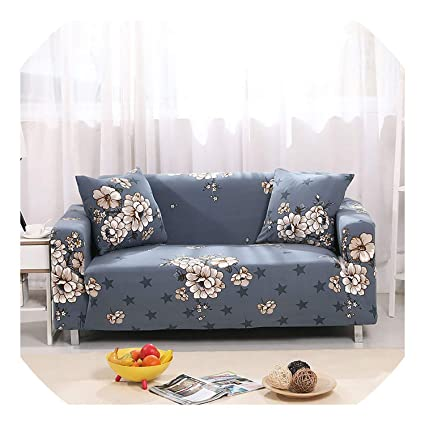Amazon.com: Leifun Elastic Sofa Cover Stretch Cubre Sofa ...
