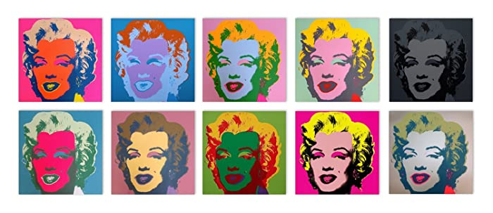 Amazon.com: Marilyn Monroe Suite - Sunday B. Morning: Andy Warhol ...