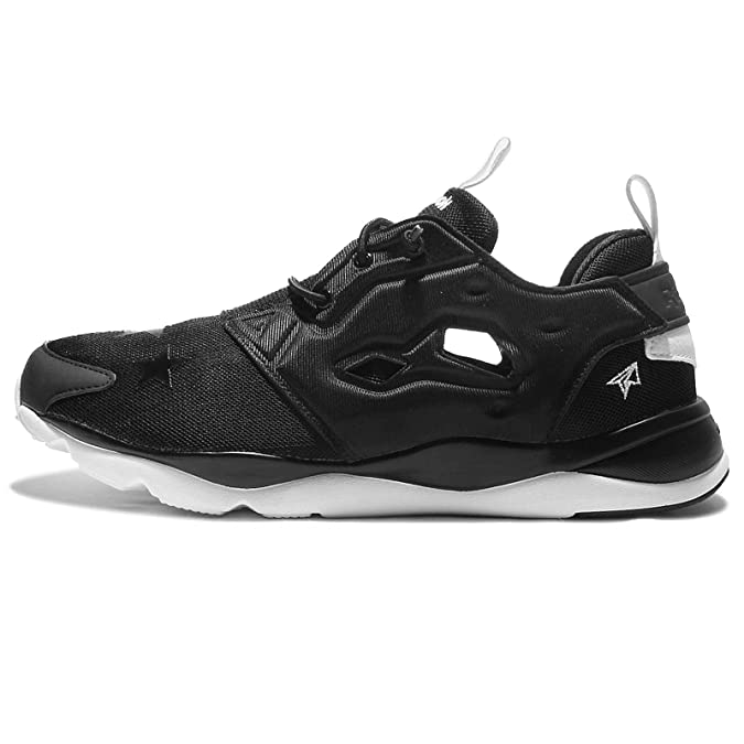 new styles f73f3 3e518 Reebok Men s Furylite AFF TXT, STAY REAL-BLACK WHITE, 9.5 M US  Amazon.ca   Shoes   Handbags
