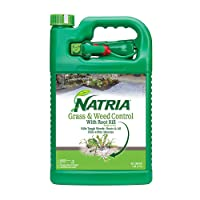 Natria 100532524 Grass & Weed Control with Root Kill Herbicide Weed Killer, Ready-to-Use...