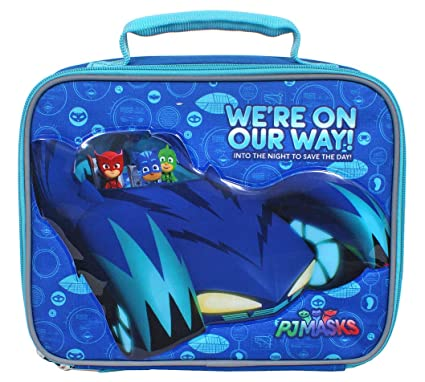 PJ Masks Were On Our Way Insulated Lunch box Tote