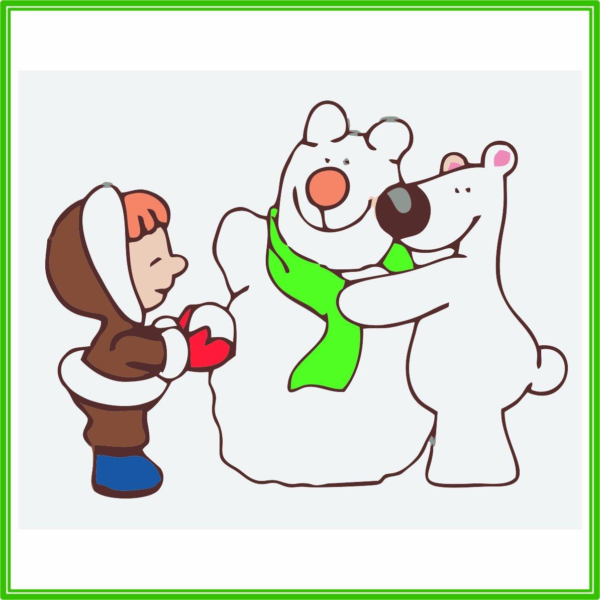 AJP05405 parche - Polo Norte amigos: Amazon.es: Hogar