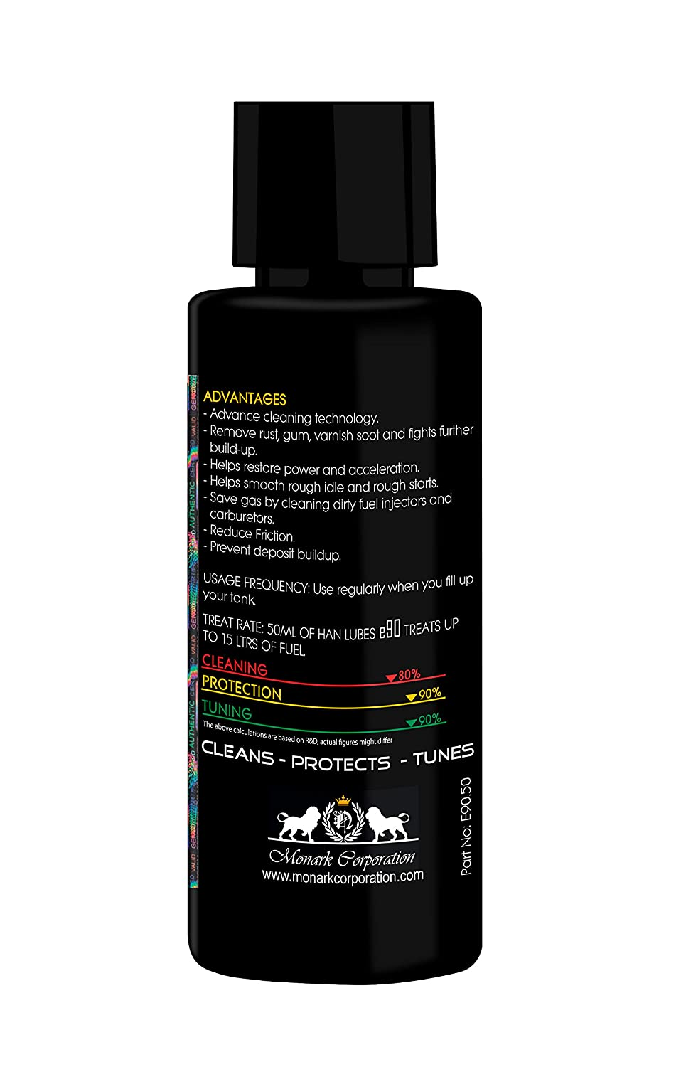 Han Lubes e90 Complete Fuel System Cleaner & Engine Flush