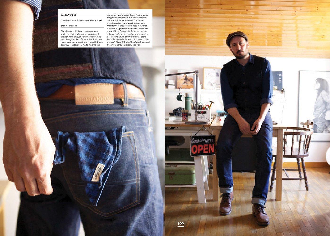 Denim Dudes Street Style Vintage Workwear Obsession Amy Leverton 9781780674186 Amazon Books