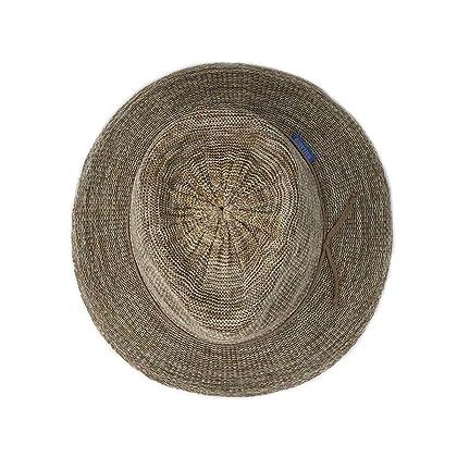 ... Wallaroo Hat Company Women s Victoria Fedora Sun Hat - Mixed Camel - UPF  50+ ... e8a1cb66734d