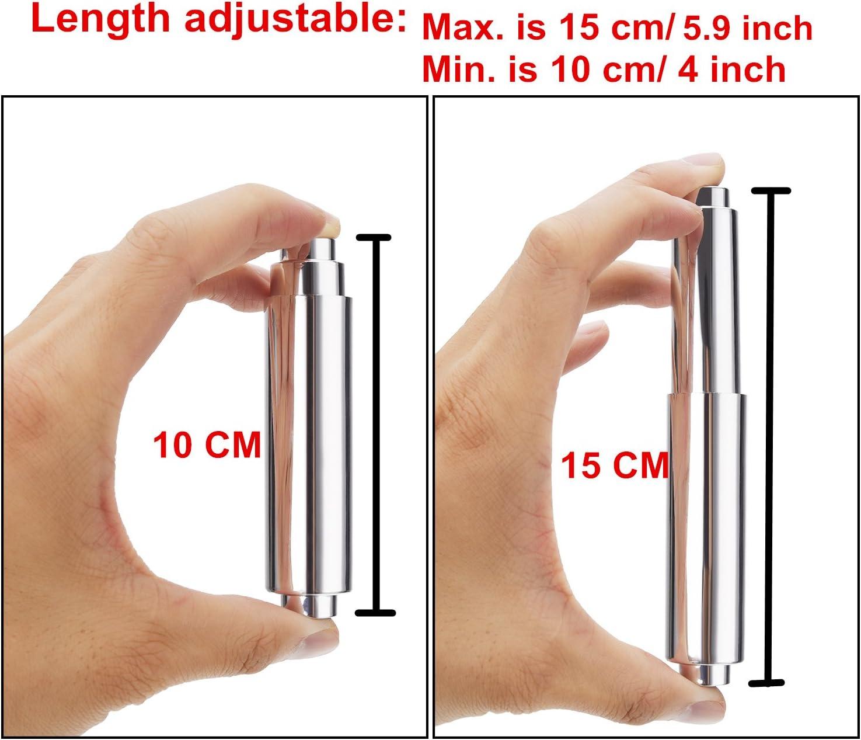 Wei/ß Punkt Ende 3 Packung Toilett Papier Halter Roller Toilett Papiertuch Halter Ersatz Kunststoff Fr/ühling Geladen
