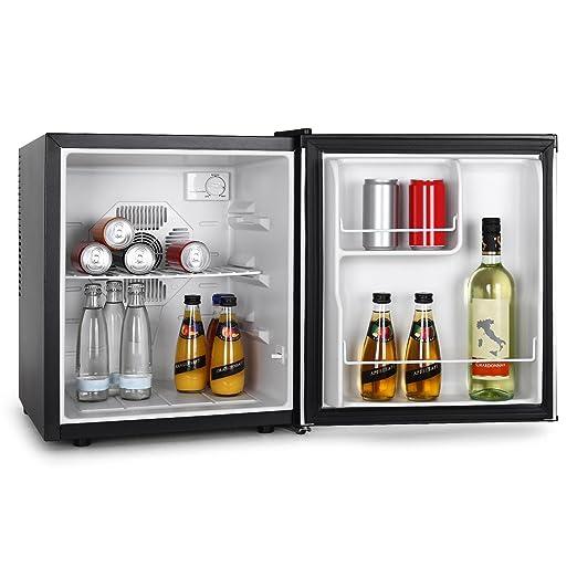 VOV VRF-48SS Nevera-Minibar 48 litros en color negro/plata: Amazon ...
