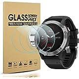 Suoman 3-Pack for Garmin Fenix 6 Screen Protector Tempered Glass for Garmin Fenix 6/6 Pro/ 6 Sapphire [2.5D 9H Hardness…