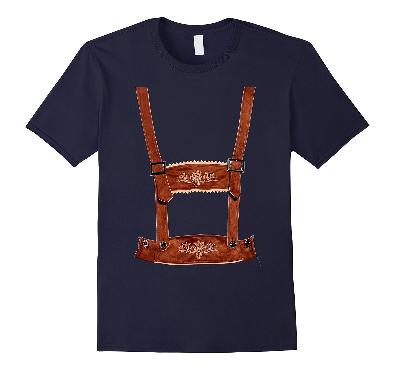 vintage lederhosen shirt german oktoberfest costume t. Black Bedroom Furniture Sets. Home Design Ideas