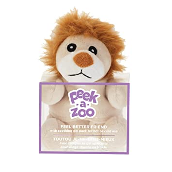 Upper Canada Soap Peek-A-Zoo Feel Better Friend Hot/Cold Pack,
