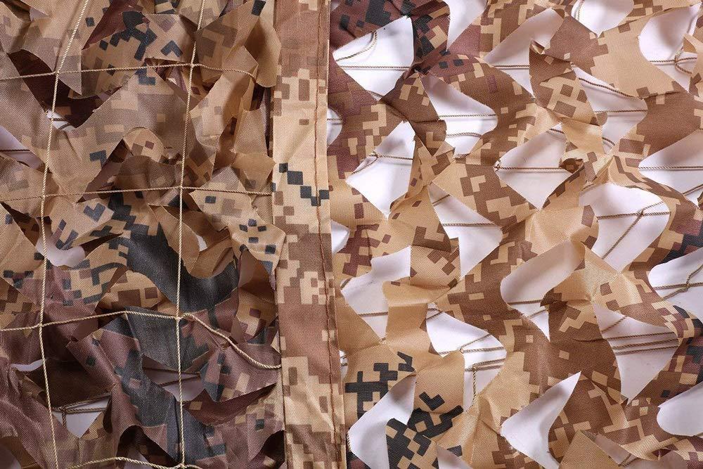 Rete Rete Rete Mimetica,Camouflage Net Camuffamento Parasole Camo Mimetica Sole Ombreggiata Tende,Adatto per Bambini Campeggio Militare Esercito Nascondere Travestimento Caccia Tiro 3x5 Giardino Deserto Marronee B07MYHM72H 57M | Regalo ideale per tutte le occasioni b0a742